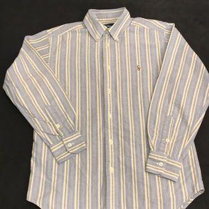 💐 3/$25 Ralph Lauren Boys Dress Shirt size 10/12